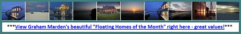 Portland Oregon Floating Homes Featured Floating Homes of the Month