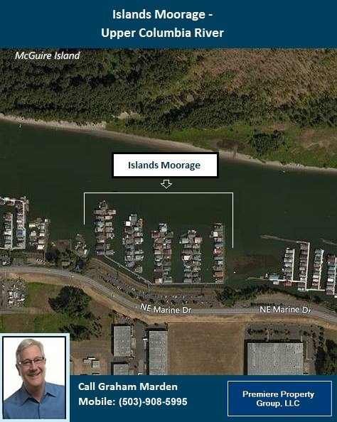 Floating Homes for Sale in Portland Oregon The Islands Moorage