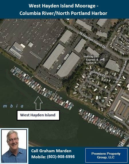 Floating Homes for Sale in Portland Oregon West Hayden Island Moorage