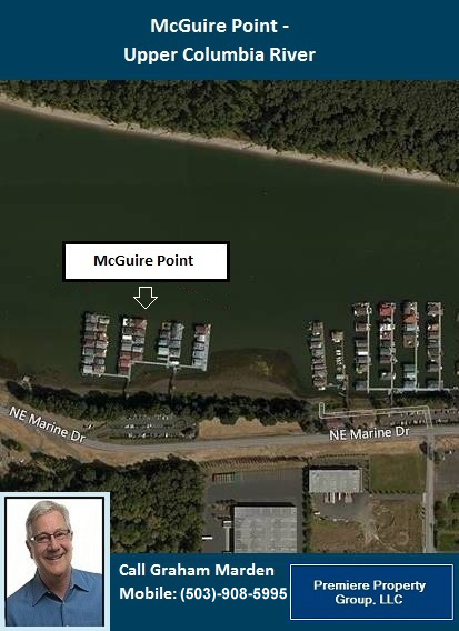 Floating Homes for Sale in Portland Oregon McGuire Point Marina