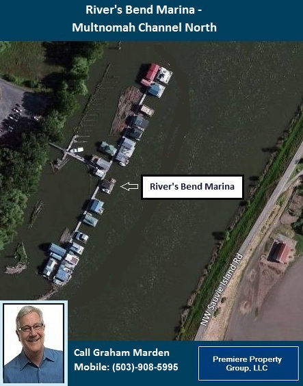 Floating Homes for Sale in Portland Oregon River's Bend Marina