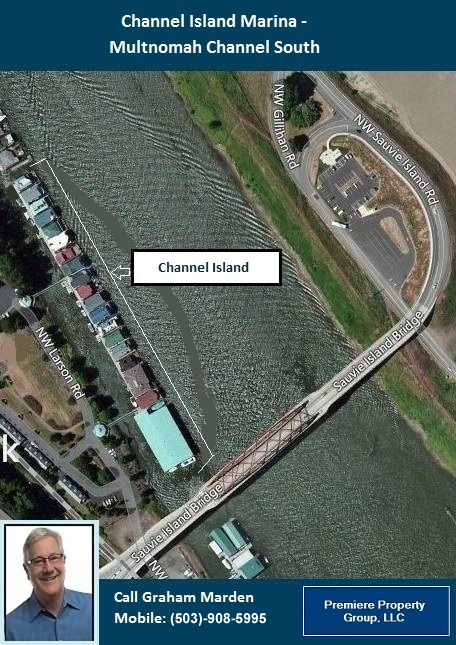Floating Homes for Sale in Portland Oregon Channel Island Marina