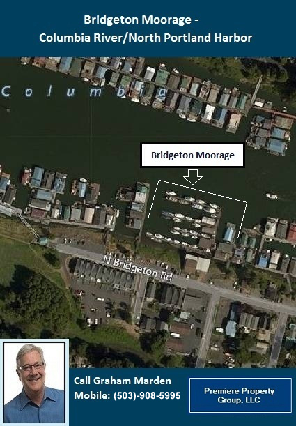 Floating Homes for Sale in Portland Oregon Bridgeton Moorage