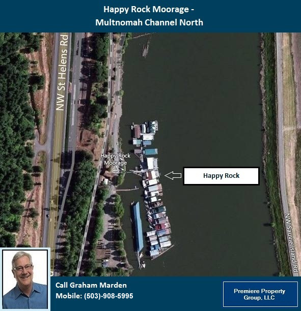 Floating Homes for Sale in Portland Oregon Happy Rock Moorage