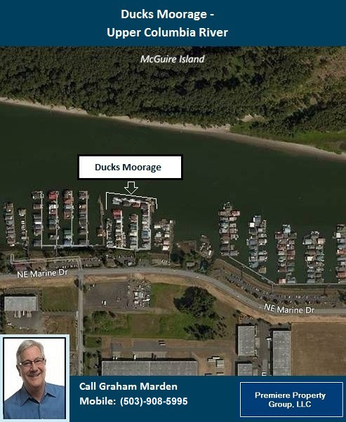 Floating Homes for Sale in Portland Oregon Ducks Moorage