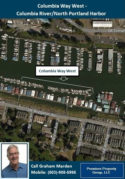 Floating Homes for Sale in Portland Oregon Columbia Way West