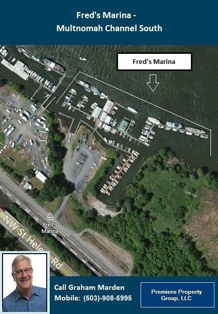 Floating Homes for Sale in Portland Oregon Fred's Marina