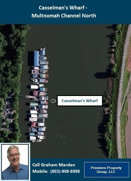 Floating Homes for Sale in Portland Oregon Wapato Moorage