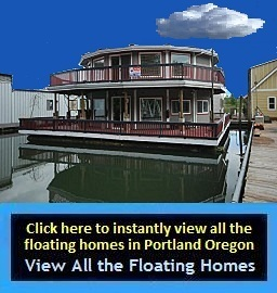 Floating Homes for Sale in Portland Oregon: Houseboats for Sale in